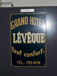 Grand Hotel Leveque, Paris
