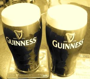 Pints in a Dublin Pub
