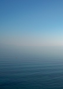Cerulean Waters & Sky on the Ferry to Corfu, Greece