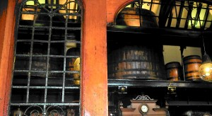 Barrels in London Pub, Cittie of Yorke