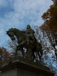 Louis XIII in the Place de Vosges