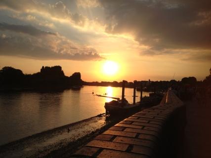 Hammersmith sunset